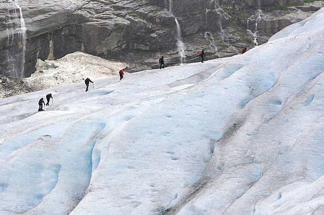 Zdjęcia: Wspinaczka na lodowiec Jostedalsbreen, VI, NORWEGIA
