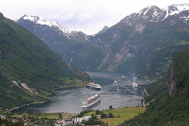Zdjęcia: Geiranger Fjord, VII, NORWEGIA