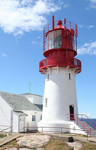 Zdjęcia: Latarnia Morska w Lindesnes, X, NORWEGIA
