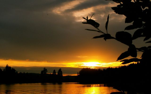 Zdjęcia: Gansvika, Skandynawia, Zachód słońca 06, NORWEGIA