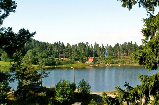 Zdjęcia: Gansvika, Skandynawia, Jezioro Qyren 01, NORWEGIA