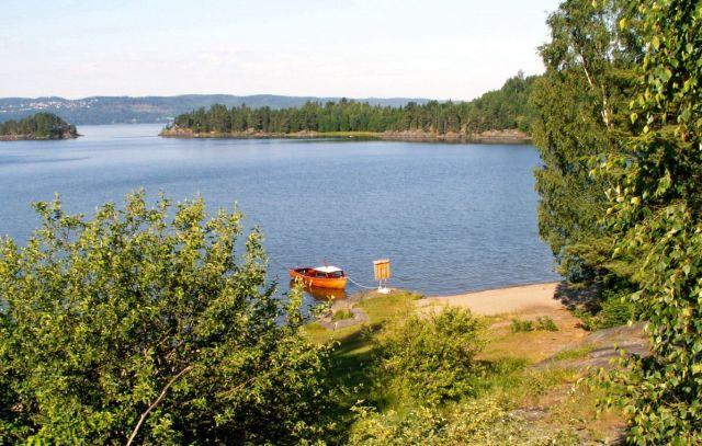 Zdjęcia: Gansvika, Skandynawia, Jezioro Qyren 03, NORWEGIA