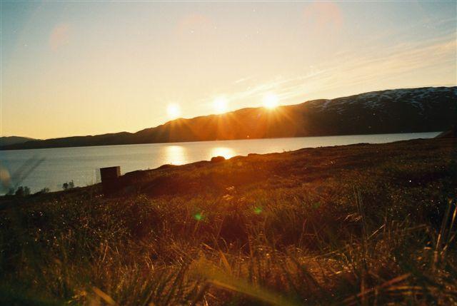 Zdjęcia: Nordkapp, Noc za kołem polarnym, NORWEGIA
