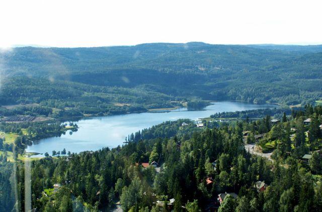 Zdjęcia: Oslo, Skandynawia, Widok ze skoczni 01, NORWEGIA