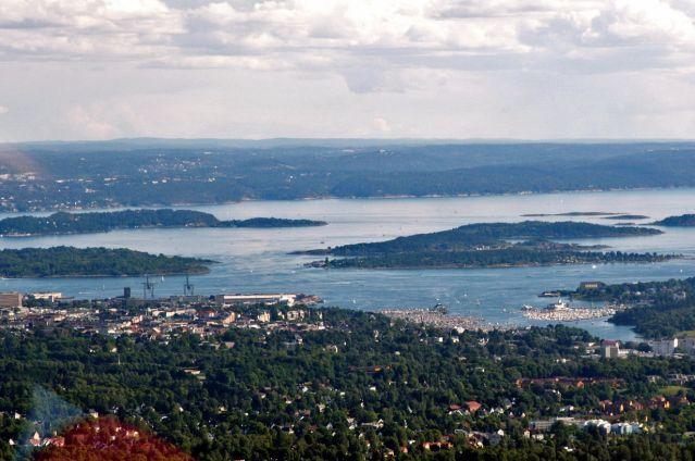 Zdjęcia: Oslo, Skandynawia, Widok ze skoczni 02, NORWEGIA
