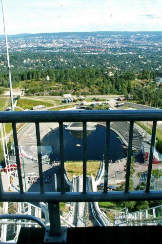 Zdjęcia: Oslo, Skandynawia, Holmen Kollen 03, NORWEGIA