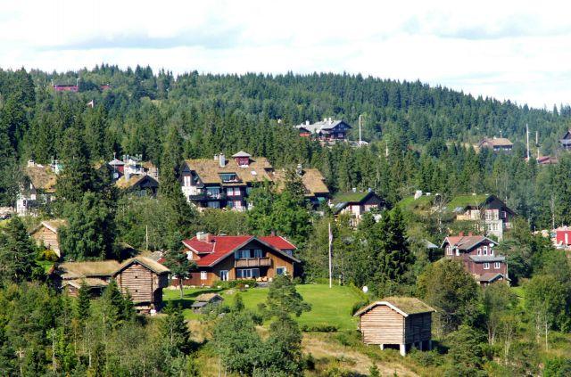 Zdjęcia: Oslo, Skandynawia, Widok ze skoczni 04, NORWEGIA