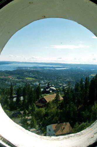 Zdjęcia: Oslo, Skandynawia, Widok ze skoczni 05, NORWEGIA