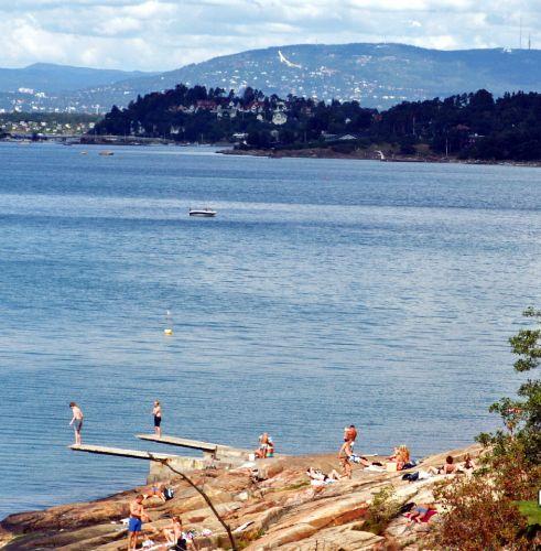 Zdjęcia: Oslo, Skandynawia, Kąpielisko, NORWEGIA