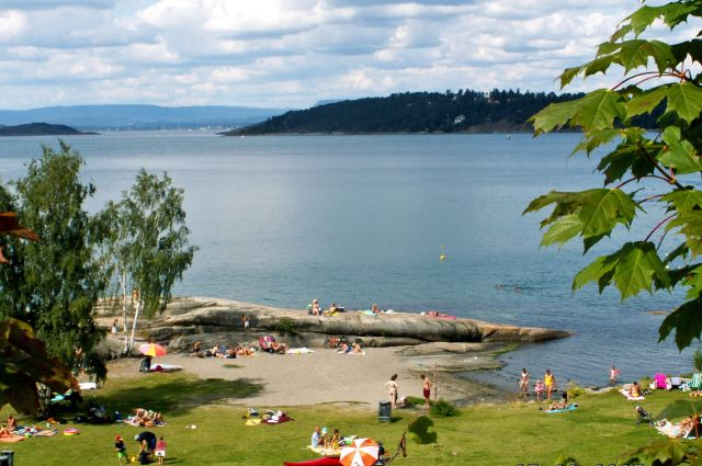 Zdjęcia: Oslo, Skandynawia, Kąpielisko 2, NORWEGIA