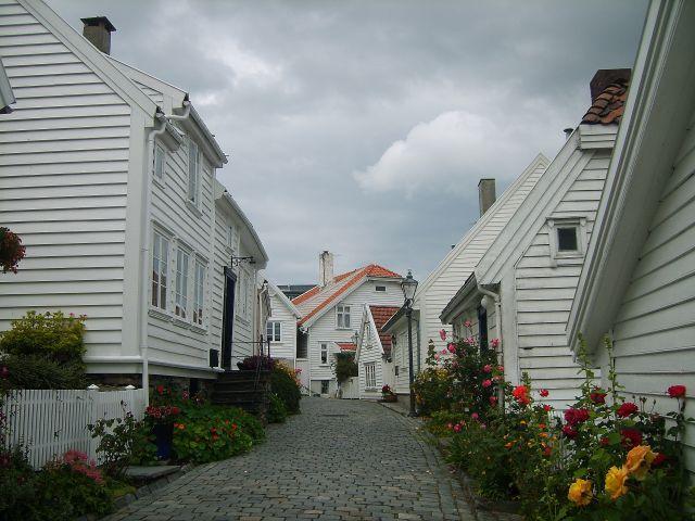 Zdjęcia: Stavanger, południe Norwegii, Osiedle domków w Stavanger2, NORWEGIA