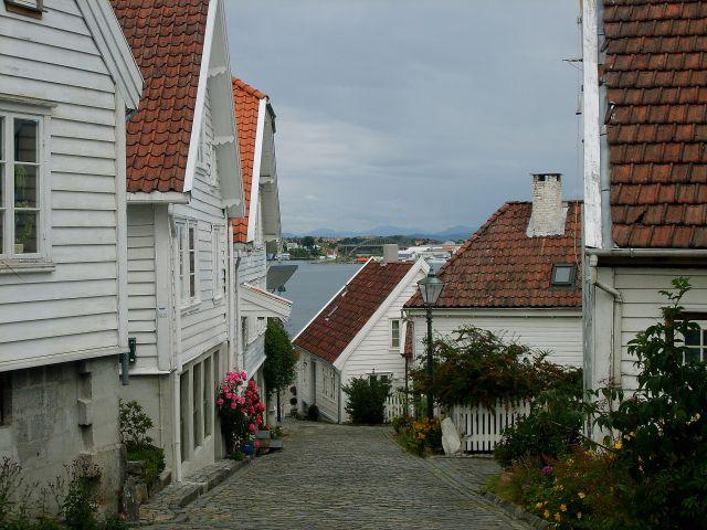 Zdjęcia: Stavanger, południe Norwegii, Osiedle domków w Stavanger3, NORWEGIA