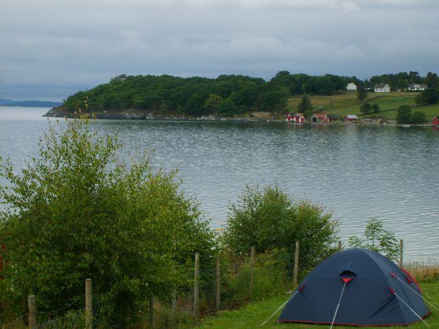 Zdjęcia: okolice Stavanger, południe Norwegii, Na campingu, NORWEGIA