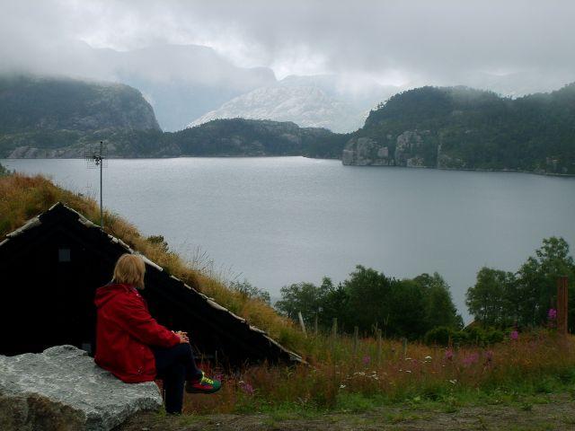 Zdjęcia: okolice Preikestolhytta, południe Norwegii, chwila zamyślenia..., NORWEGIA