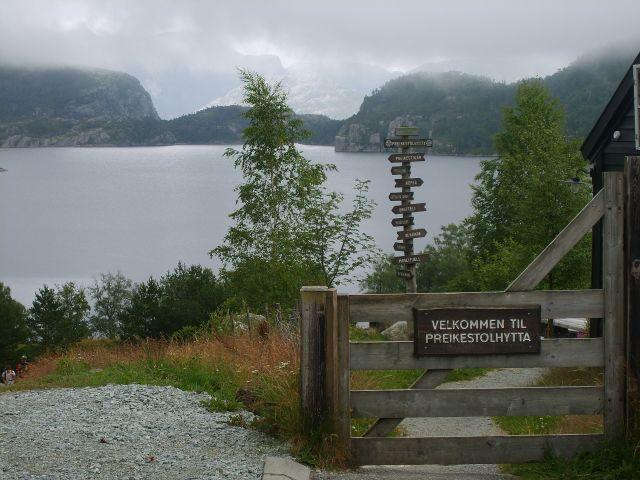 Zdjęcia: Preikestolhytta, południe Norwegii, Preikestolhytta, NORWEGIA