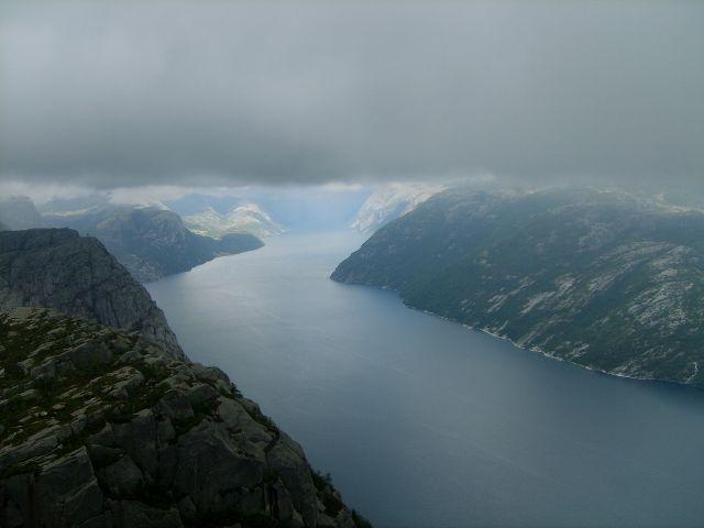 Zdjęcia: Preikestolen, Lysefjorden, południe Norwegii, Kraina fiordów, NORWEGIA
