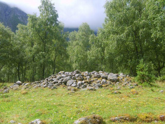 Zdjęcia: Eidfjord, Eidfjord, Grobowce wikingów, NORWEGIA