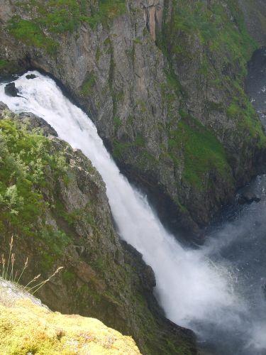 Zdjęcia: Voringfoss, okolice Eidfjord, Voringfoss, NORWEGIA