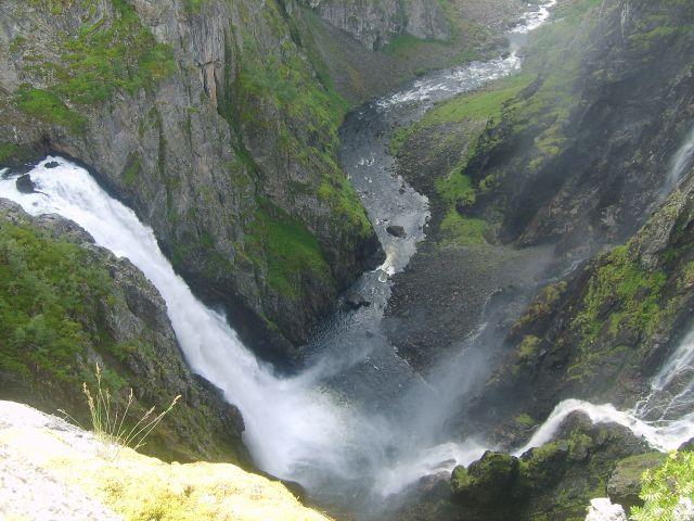 Zdjęcia: Voringfoss, okolice Eidfjord, Voringfoss3, NORWEGIA