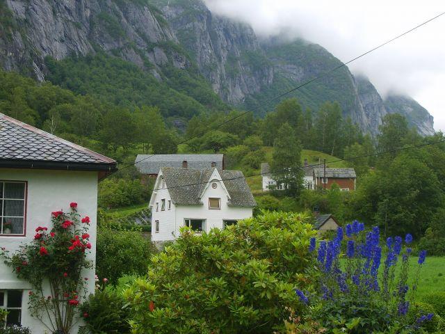 Zdjęcia: Sima, okolice Eidfjord, Osiedle:), NORWEGIA