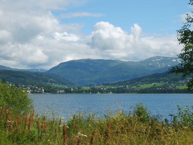 Zdjęcia: Voss, Jezioro w Voss, NORWEGIA