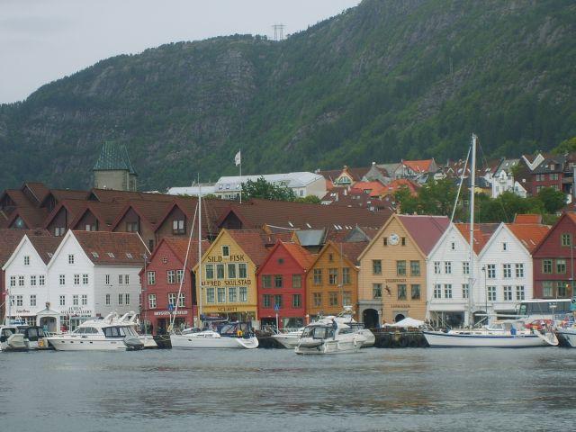 Zdjęcia: Bergen, Zachodnie wybrzeże Norwegii, Bergen 3, NORWEGIA