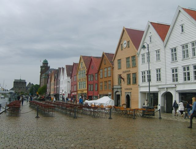Zdjęcia: Starówka, Bergen, Starówka, NORWEGIA