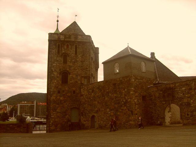 Zdjęcia: Starówka, Bergen, Twierdza, NORWEGIA