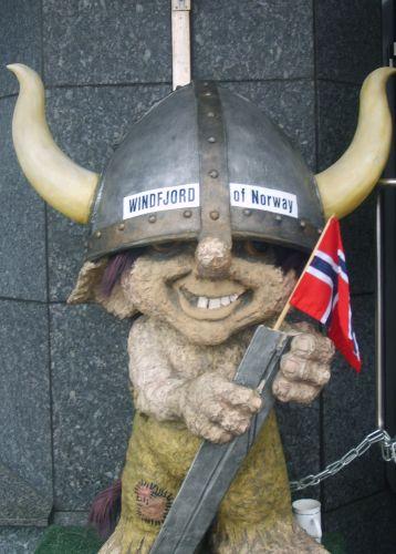 Zdjęcia: Starówka, Bergen, Troll, NORWEGIA
