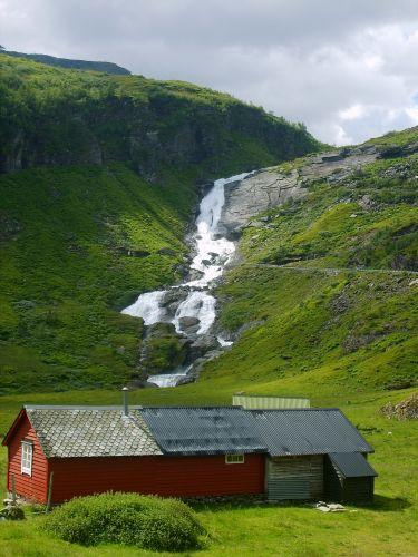 Zdjęcia: okolice Sognefjorden, W drodze do Sognefjorden2, NORWEGIA