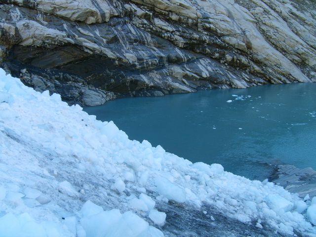 Zdjęcia: Jostedalsbreen Nasjonalpark, Na lodowcu, NORWEGIA