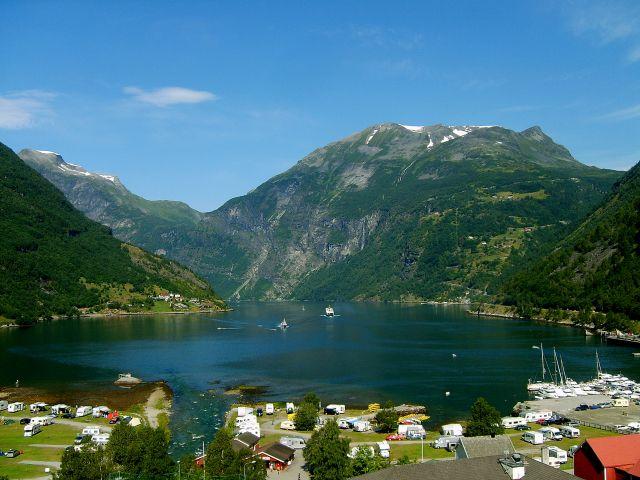 Zdjęcia: Geirenger, nad Geirangerfjord, Geirangerfjord, NORWEGIA