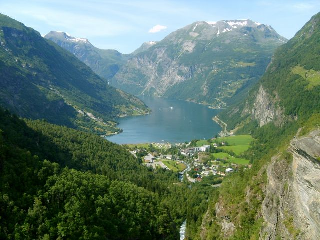Zdjęcia: Geiranger, Geirangerfjord, Kraina fiordów, NORWEGIA