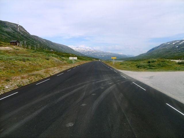 Zdjęcia: W drodze do Lom, Pustkowie, NORWEGIA