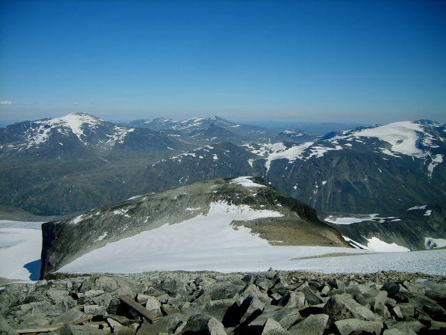 Zdjęcia: Jotunheimen, Wysoko w górach, NORWEGIA