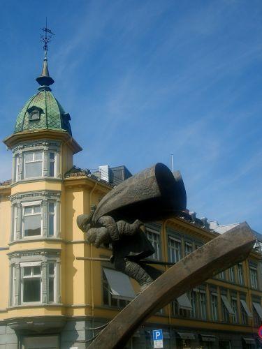 Zdjęcia: Lillehamer, Narciarz\, NORWEGIA