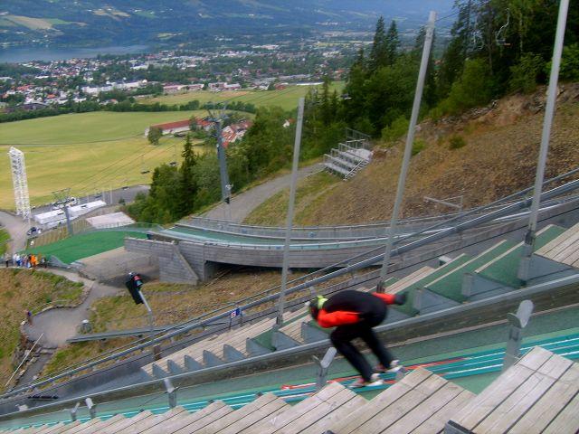 Zdjęcia: Lillehammer, Skoczek, NORWEGIA