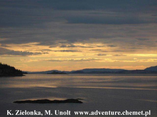 Zdjęcia: Trondheimsfjord, Rowerowa wyprawa z Oslo na Nordkapp, NORWEGIA