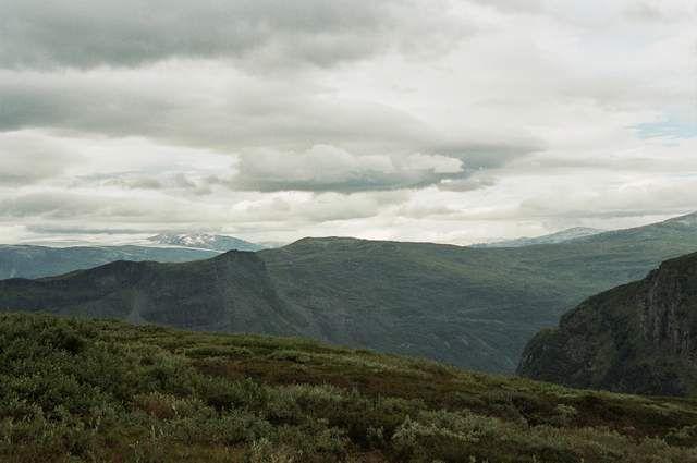 Zdjęcia: okolice Lom, przedsmak gór Jotunheimen, NORWEGIA