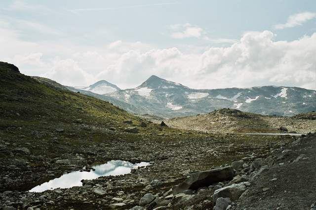 Zdjęcia: Park Narodowy Jotunheimen, Najwyższe góry Skandynawii, NORWEGIA