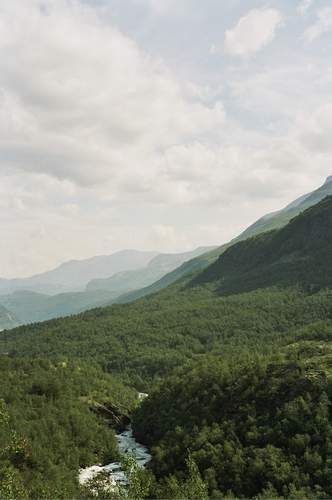 Zdjęcia: okolice Lom, U stóp Jotunheimen, NORWEGIA