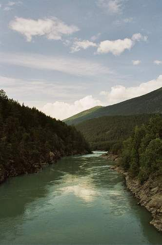Zdjęcia: okolice PN Jotunheimen, przedsmak dzikości natury, NORWEGIA