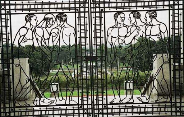 Zdjęcia: Oslo, Życie człowieka w kroplach deszczu, NORWEGIA