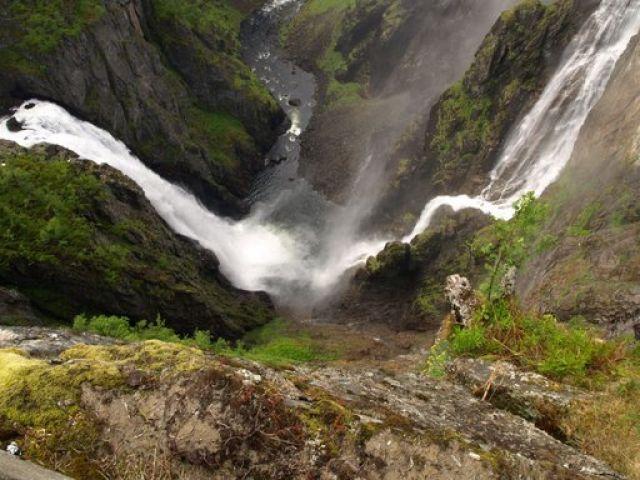 Zdjęcia: Wodospad Voringsfossen, Vonringsfossen, NORWEGIA