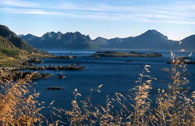 Zdj�cia: Archipelag Vesteralen - Oppmyre, Vesteralen, NORWEGIA