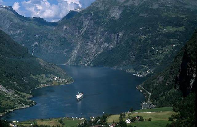 Zdjęcia: Geirangerfjord, Geirangerfjord, NORWEGIA