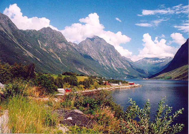 Zdj�cia: Norwegia, Hjorundfjord, NORWEGIA