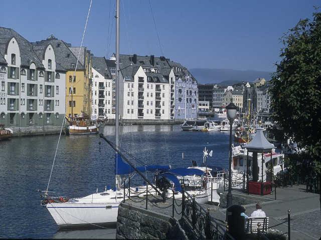 Zdjęcia: Norwegia, Alesund, NORWEGIA
