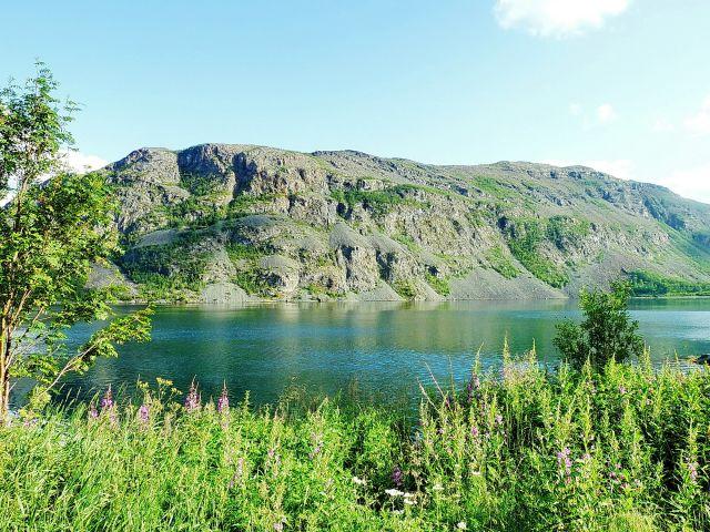 Zdjęcia: m6, Nordland, Jeziorko o poranku, NORWEGIA