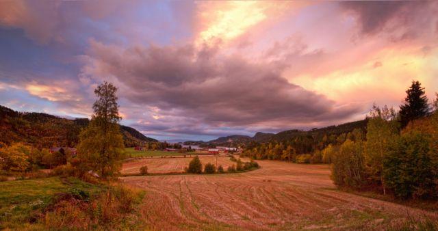 Zdjęcia: Asen, wschód słońca, NORWEGIA